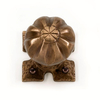 Louis Fraser 262 Door Knob Set - Bronze Finish