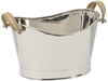 Champagne Cooler Ice Bucket with Leather Strap