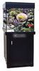 General Household Aqua One AquaReef 275 Cube Black Aquarium And Cabinet