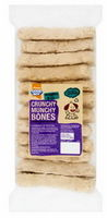 Pets  - Waggles and Co Crunchy Munchy Bones 380g