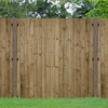 Forest Forest 6x4ft Pressure Treated Featheredge Fence Panel (5 Pack)