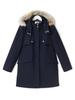 Women's Accessories Aubrey Fur Hood Duffle Coat
