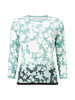 Women's Accessories Graduated Floral Knit Jumper