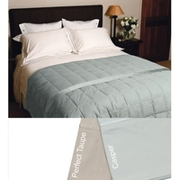 Beds  - Espresso Feather & Down Blanket