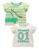 Baby Clothes KD BABY Boys Pack of Two Tops
