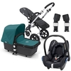 Baby Products Bugaboo Cameleon 3 Travel System Package 2 Dark Grey/Petrol Blue 2012