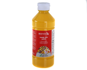 Arts & Crafts  - Ready Mixed Paint 500ml, Brill Yellow