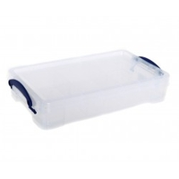 Really Useful Box Cable Tidy 2.5L Tray,  Clear