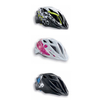 Cycling MET Crackerjack Kids Cycling Helmet White/Pink Heart