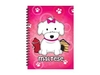 Foufou Dog  3D Maltese (Girl) Notebook