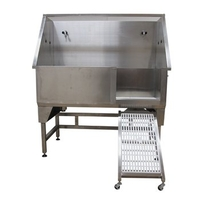 Pets  - Groom Professional GP TX 130 Stainless Bath Tub with Ramp