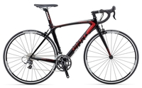 Cycling  - Giant TCR Composite 2 2013 Road Bike - Black/Red