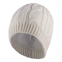 Cycling  - Sealskinz Cableknit Beanie - Cream