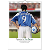 Personalised Gifts Personalised Calendars - Football (Starts on month of your choice)