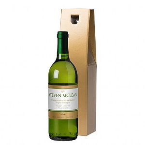 Personalised Gifts  - Personalised Year Vin De Pays White Wine