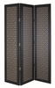 House Accessories Arthouse Room dividers San Remo Amber Black Tall Screen, 008283