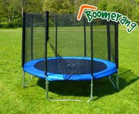 Trampolines  - 10ft Boomerang Plus trampoline