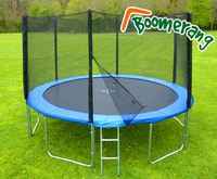 Trampolines  - 12ft Boomerang Plus trampoline