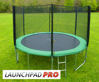 Trampolines  - 12ft LaunchPad Power trampoline