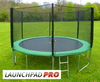 14ft LaunchPad Pro trampoline