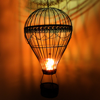 Decorations  - Hot Air Balloon Candle Holder (TJ0032)