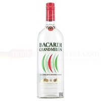 Wine, Spirits & Tobacco  - Bacardi Grand Melon Rum 70cl
