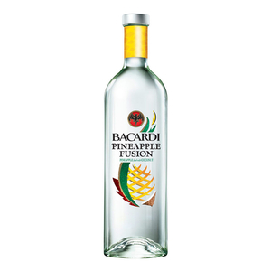 Alcoholic Drinks  - Bacardi Pineapple Fusion Rum 70cl