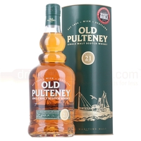 Wine  - Old Pulteney 21 Year Whisky 70cl