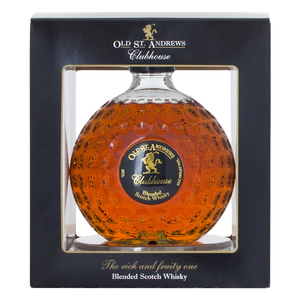 Wine  - Old St Andrews Clubhouse Premium Golf Ball Whisky 50cl