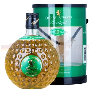 Wine, Spirits & Tobacco  - Old St Andrews Twilight Golf Ball 10 Year Whisky 70cl