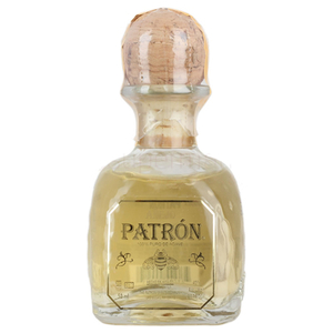 Alcoholic Drinks  - Patron Anejo Aged Tequila 5cl Miniature
