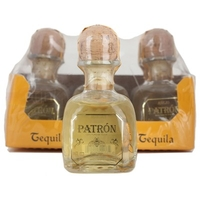 Wine  - Patron Anejo Aged Tequila 6x5cl Miniature Pack