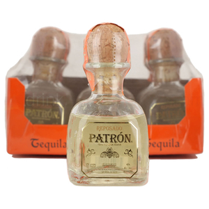Wine  - Patron Reposado Rested Tequila 6x5cl Miniature Pack