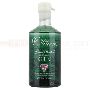 Alcoholic Drinks  - William Chase Extra Dry Gin 70cl