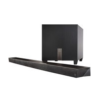 Home Cinema  - Definitive Technology Black Studio Slim Soundbar w/ Chromecast