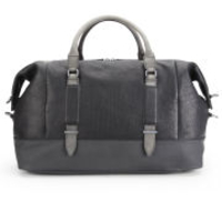 Bags  - Calvin Klein Covered Straps Leather Holdall - Black