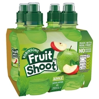 - Robinsons Fruit Shoot Apple No Added Sugar 4 Pack