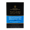 Drinks Taylors Decaffeinated Breakfast 20 Tagged Teabags