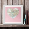 Gifts Personalised Love Definition Map