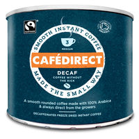 Food  - Cafedirect Decaffeinated Instant Coffee - 500g