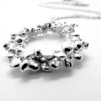 General Clothing  - La Jewellery Fair Trade Rockpool Silver Necklace
