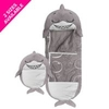 Happy Nappers - Grey Shark - Medium
