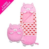 Happy Nappers - Pink Kitty - Large
