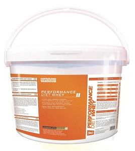 SALE - Bodybuilding Warehouse Performance Diet Whey - 5kg-Chocolate Cookie (Damaged)