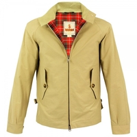 - Baracuta G4 Original Harrington Jacket Natural BRCPS0002