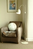 Brompton Floor Lamp in Clay