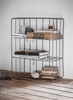 Farringdon Wall Crate in Charcoal - Wirework
