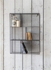 Farringdon Wirework Wall Unit in Charcoal