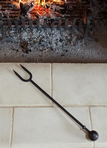 Home Accessories  - Fire Fork - Wrought Iron