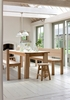 Furniture Hambledon Raw Oak Table and Bench Set